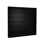 Polish Wall Rack Available in Black White or Gray (PC03)