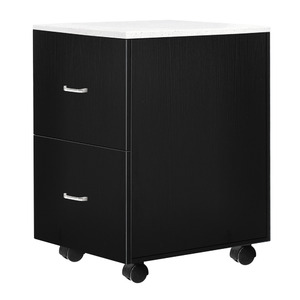 Pedicure Accessory Trolley with Quartz Top Available in Black White or Gray (TR04)