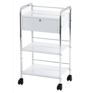 Waxing Trolley Available in Gloss White (ZD108A)
