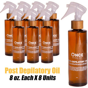 Once Natural Post Depilatory Oil 8 oz. Each X 8 Units (ON-PDO8 X 8)