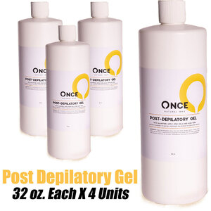 Once Natural Post Depilatory Gel 32 oz. Each X 4 Units (ON-PDG32 X 4)