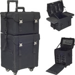 Black Soft Sided 4-Rolling Case (HK6702NLAB)