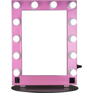 Pink Mirror Led Light Glass (HKL4302PCPK)