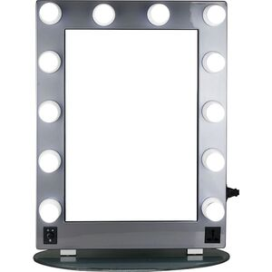 Silver Mirror Led Light Glass (HKL4302PCSL)