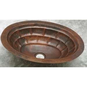 Copper Bath Oval-Tortoise Sink-Limited Quantities Available! by Pure Spa Copper Elements