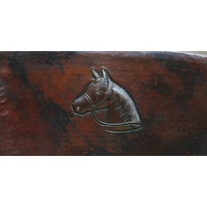 Large Wide Oval Bath Sink-Horse Head-Limited Quantities Available! by Pure Spa Copper Elements