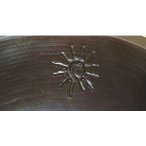 Large Wide Oval Bath-Infinity Sun-Limited Quantities Available! by Pure Spa Copper Elements