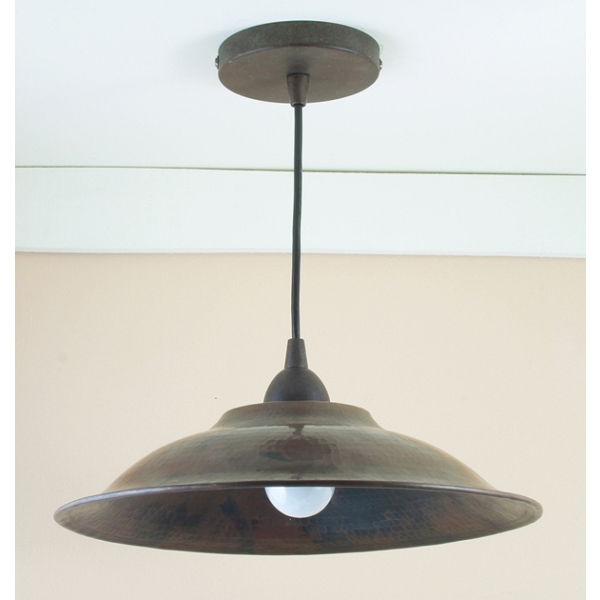 "Copper Pendant Light 13"" by Pure Spa Copper Elements"