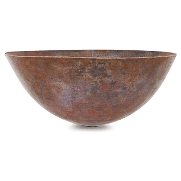 Copper Vessel Sink by Pure Spa Copper Elements