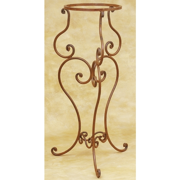 Wrought Iron Copper Sink Stand by Pure Spa Copper Elements