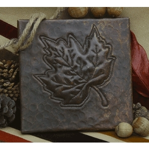 Maple Leaf Copper Tile by Pure Spa Copper Elements