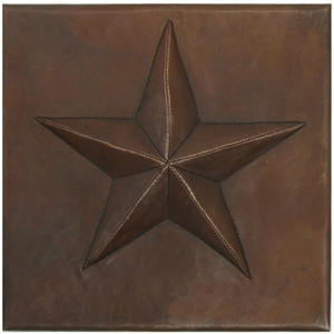 Star Copper Tile by Pure Spa Copper Elements