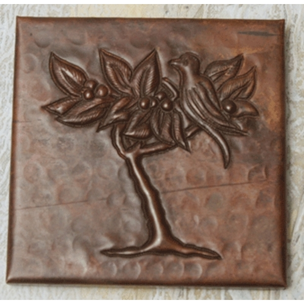 Partridge Copper Tile by Pure Spa Copper Elements