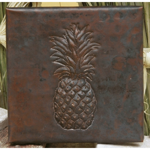 Pineapple Copper Tiles by Pure Spa Copper Elements