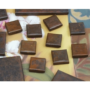 "1""x 1"" Copper Accent Tile by Pure Spa Copper Elements"