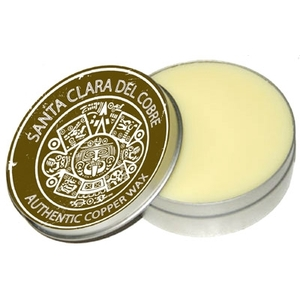 Organic Copper Sink Wax by Santa Clara Del Cobre
