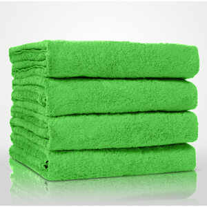 "100% Turkish Cotton Terry Bath Towel | Color: Lime Green | Material: 100% Turkish Cotton | Size: 35"" x 60"" (TT4002-LGRN)"