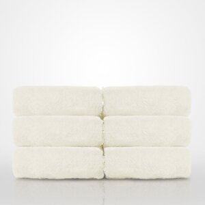 "100% Turkish Cotton Terry Washcloth | Color: Ivory | Material: 100% Turkish Cotton | Size: 13"" x 13"" (TT4005-IVY)"