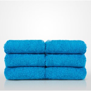 "100% Turkish Cotton Terry Washcloth | Color: Turquoise | Material: 100% Turkish Cotton | Size: 13"" x 13"" (TT4005-TUR)"