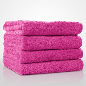 "100% Turkish Cotton Terry Hand Towel | Color: Fuchsia | Material: 100% Turkish Cotton | Size: 16"" x 29"" (TT4007-FUS)"