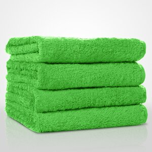 "100% Turkish Cotton Terry Hand Towel | Color: Lime Green | Material: 100% Turkish Cotton | Size: 16"" x 29"" (TT4007-LGRN)"