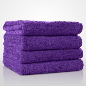 "100% Turkish Cotton Terry Hand Towel | Color: Purple | Material: 100% Turkish Cotton | Size: 16"" x 29"" (TT4007-PUR)"