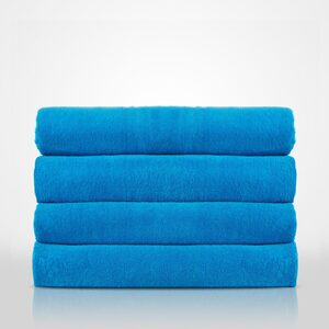 "100% Turkish Cotton Terry Velour Pool | Beach Towel | Color: Turquoise | Material: 100% Turkish Cotton | Size: 35"" x 60"" (TT4003-TUR)"