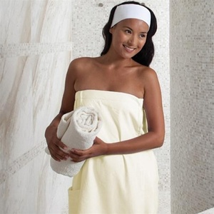 Spa Wrap - Microfiber - Woman's Ecru (MR1032)