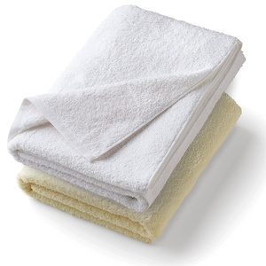 "Towels - Sunny Lane Collection - Terry Hand Towel - 16"" x 30"" - 100% Cotton 4.75 Lb. White (TOW1630C)"