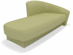 Loafah Chaise + Spa-Massage Treatment Table by TouchAmerica