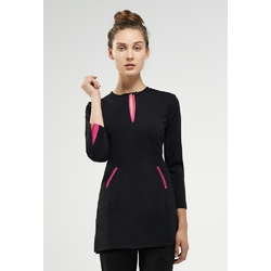 The Coco Woman's Top with Pink Trim (NA116BZ)