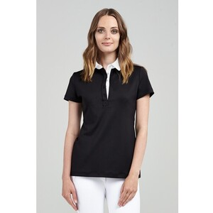 The Woman's Woven Collar Polo (FC091)