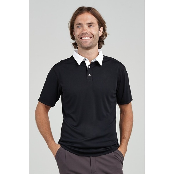 The Men's Woven Collar Polo (FC090)