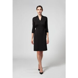 The Amari V-Neck Faux Wrap Dress (NA608R)