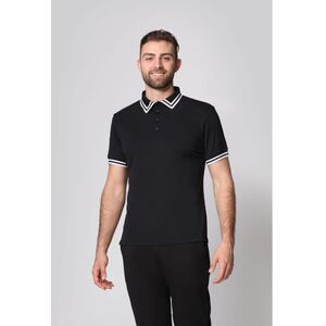 The Men's Pro Polo Shirt with Stripe Collar (NA805R)