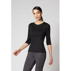 The Kristen 34 Sleeve Crew Neck Women's Top (NA983R)