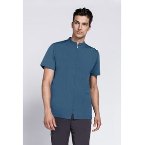 The Men's Urban Fusion - Zip Up Tunic with Mandarin Collar (NA135)