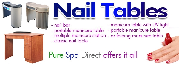 Salon Nail Tables Manicure Tables