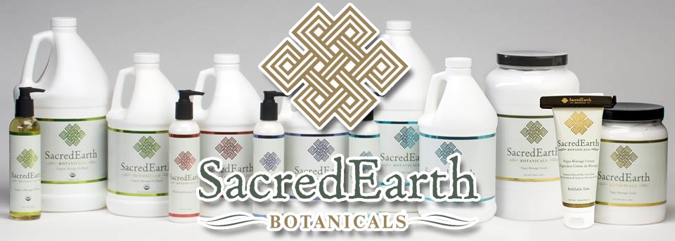 Sacred Earth Botanicals - professional massage therapy products