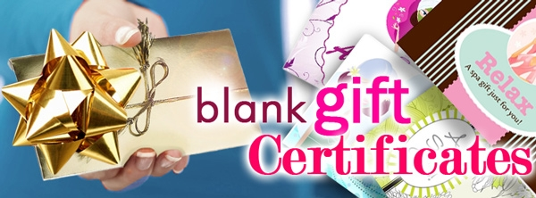 a70c32f5bd Marketing   Merchandising - Gift Certificates   Gift Certificate Holders