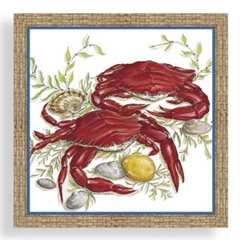 Dinner Napkins by Cape Shore - Crab