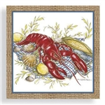 Dinner Napkins by Cape Shore - Lobster