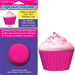 Bakery Quality Cupcake Baking Cups - Pink (32 pieces)