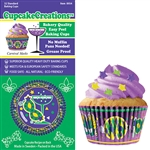 Bakery Quality Cupcake Baking Cups - Carnival (32 pieces)