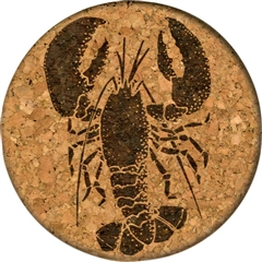 Cork Coaster (Lobster) by GrafixMat