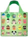 ARTISTS Faces Reusable Shopping Bags by LOQI