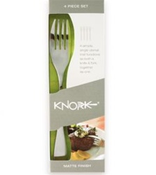 Knork (Knife/Fork) 4-pack with Gloss Finish