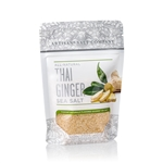 Thai Ginger Salt - 4 oz Zip Top Pouch - Fusion Flavored Sea Salt