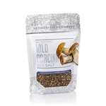 Wild Porcini Salt - 4 oz Zip Top Pouch - Fusion Flavored Sea Salt