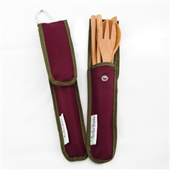 To-Go Ware RePEaT Utensil Set (Merlot)